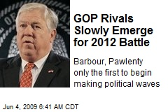 GOP Rivals Slowly Emerge for 2012 Battle