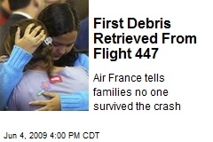 First Debris Retrieved From Flight 447