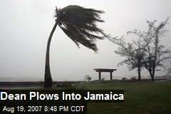 Dean Plows Into Jamaica