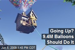 Going Up ? 9.4M Balloons Should Do It
