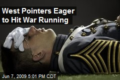 West Pointers Eager to Hit War Running