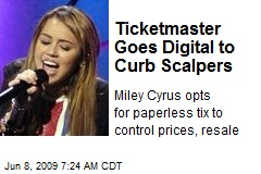 Ticketmaster Goes Digital to Curb Scalpers
