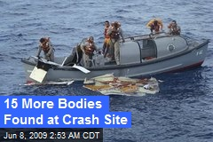 15 More Bodies Found at Crash Site