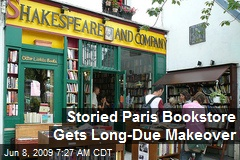 Storied Paris Bookstore Gets Long-Due Makeover