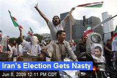Iran's Election Gets Nasty