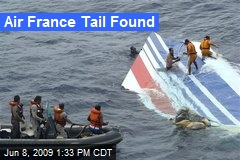 Air France Tail Found
