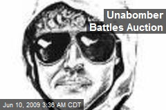 Unabomber Battles Auction