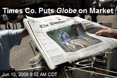 Times Co. Puts Globe on Market