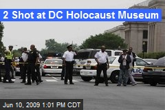 2 Shot at DC Holocaust Museum