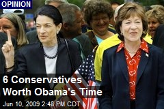 6 Conservatives Worth Obama's Time