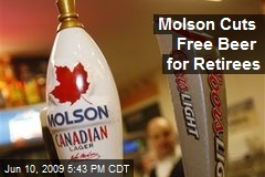 Molson Cuts Free Beer for Retirees