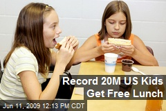 Record 20M US Kids Get Free Lunch