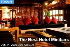 The Best Hotel Minibars