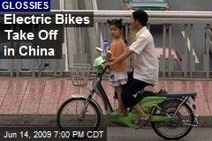 Electric Bikes Take Off in China