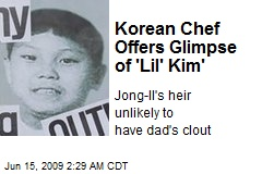 Korean Chef Offers Glimpse of 'Lil' Kim'