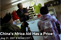 China's Africa Aid Has a Price