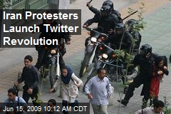 Iran Protesters Launch Twitter Revolution