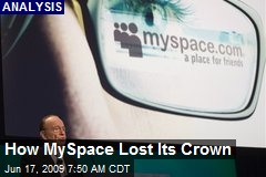 How MySpace Lost Its Crown