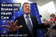 Senate Hits Brakes on Health Care