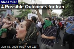 4 Possible Outcomes for Iran