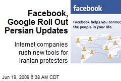 Facebook, Google Roll Out Persian Updates