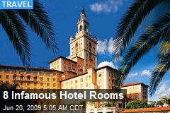 8 Infamous Hotel Rooms