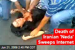 Death of Iranian 'Neda' Sweeps Internet