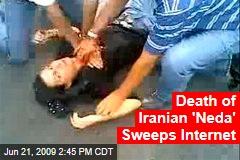 Death of Iranian 'Neda' Sweeps Internet