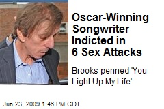 Oscar-Winning Songwriter Indicted in 6 Sex Attacks