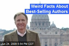 Weird Facts About Best-Selling Authors