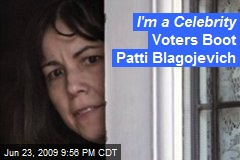 I'm a Celebrity Voters Boot Patti Blagojevich