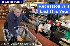 Recession Will End This Year