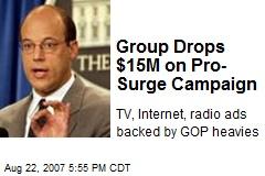 Group Drops $15M on Pro-Surge Campaign