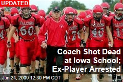 Coach Shot Dead at Iowa School; Ex-Player Arrested