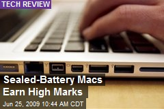 Sealed-Battery Macs Earn High Marks