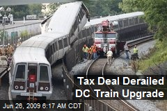 Tax Deal Derailed DC Train Upgrade