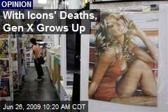 With Icons' Deaths, Gen X Grows Up