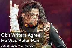Obit Writers Agree: He Was Peter Pan