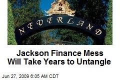 Jackson Finance Mess Will Take Years to Untangle