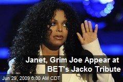 Janet, Grim Joe Appear at BET's Jacko Tribute