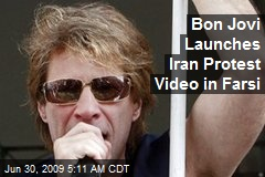 Bon Jovi Launches Iran Protest Video in Farsi