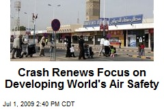 Crash Renews Focus on Developing World's Air Safety