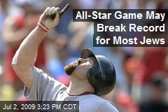 All-Star Game May Break Record for Most Jews