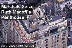 Marshals Seize Ruth Madoff's Penthouse