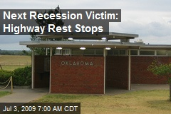 Next Recession Victim: Highway Rest Stops