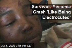Survivor: Yemenia Crash 'Like Being Electrocuted'