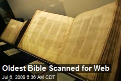 Oldest Bible Scanned for Web
