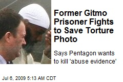Former Gitmo Prisoner Fights to Save Torture Photo
