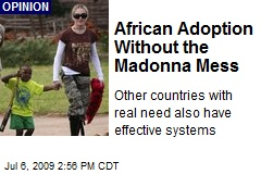 African Adoption Without the Madonna Mess