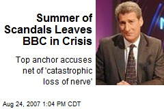 Summer of Scandals Leaves BBC in Crisis